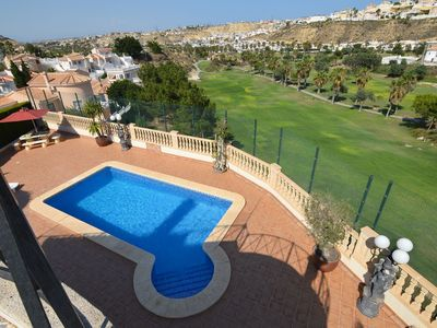 Photo for Detached villa with a swimming pool and amazing view of the La Marquesa golf course