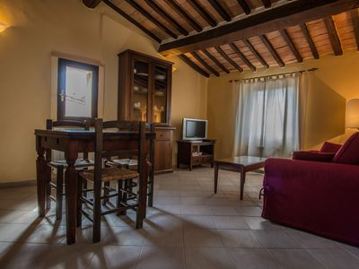 Photo for Apartment in the historic center of Sarteano, Siena, Val d 'Orcia, Tuscany