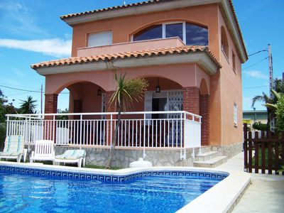Photo for Beautiful private villa for 6 guests with private pool, TV and parking
