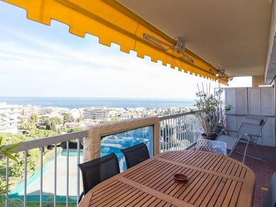 Photo for 45 m2 fabulous seaview with garage and 2 pools