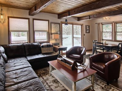 Photo for 3 Bedroom Cozy Chalet Close to Bike Trails and 7 Miles from Boyne Mountain