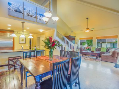 Photo for Luxury Poipu 4br Villa with AC Walk to the Beach! (224)