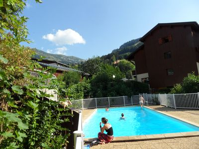 Photo for Apartment 4-6 people at the foot of the slopes, GARAGE, balcony TERRACE, lift