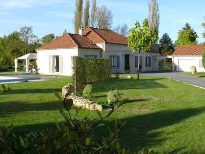 Photo for Character property with swimming pool in the heart of Montignac-Lascaux