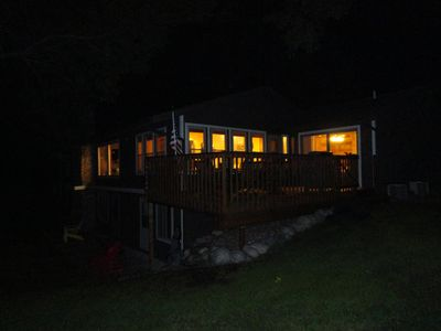 Deck and Cabin Lake side