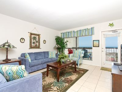 Saida III 702 - Oceanfront Condo Perfect for a Small Family or Couples, Small Dog Friendly