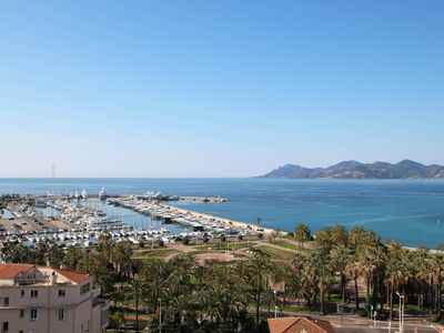 Photo for Cannes Center - Comfortable 2 bedroom apartment with sea view