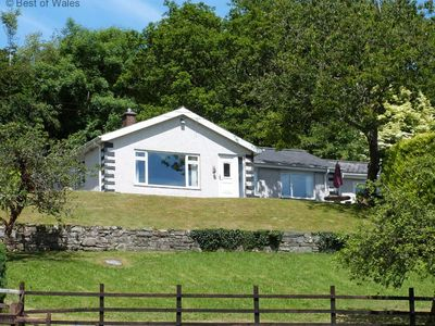 Photo for Lovely Cottage near Dolgellau. Elevated position, Great views & Close to Mountains and Coast