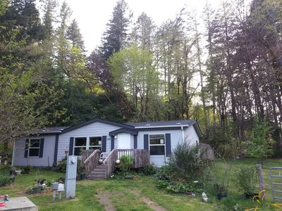 Photo for Private home on 1 ac lot,  Prime Forest Lcation, Short Walk to Smith River