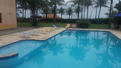 Photo for HOUSE ON THE BEACH WITH POOL - PE IN THE SAND
