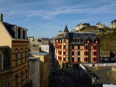 Photo for Le Gîte du Rocher, apartment in the city center and a stone's throw from the beach