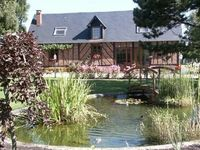 BEAUTIFUL COTTAGE AND GARDENS IN NORMANDY