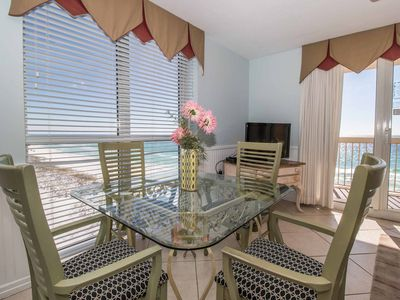 Photo for GULF FRONT VIEW & SHORE LINE VIEW, 2 BEDROOM DOLPHIN, SHORELINE & GULF FRONT
