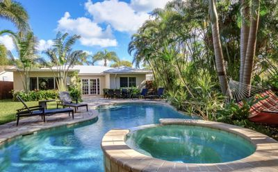 Photo for Key west style cottage pool home