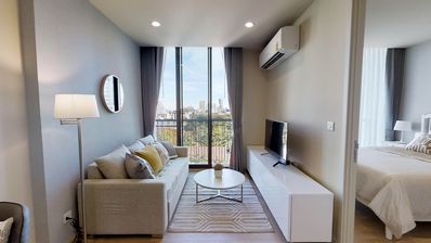 Photo for BRAND NEW!!【Noble Recole; Condo】Modern 1BR∎F/FURN∎BTS Asoke ∎MRT Sukhumvit