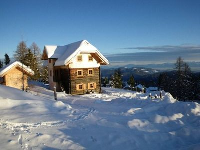 Photo for Cottage with sauna and four-poster bed at the ski lift (Almwiese), easy access