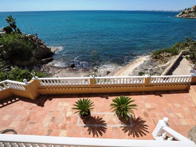 Photo for First line villa with access to the bay and sea in very quiet location!