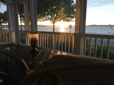 Photo for Sunset Retreat..Incomparable Beach Location in town of Oxford on The Strand