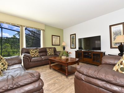 Photo for Beautiful 6 Bedroon Home at Calabria at Westside, Huge Lanai With Pool And Spa