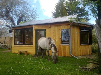 Photo for Small garden house on a therapeutic horse farm