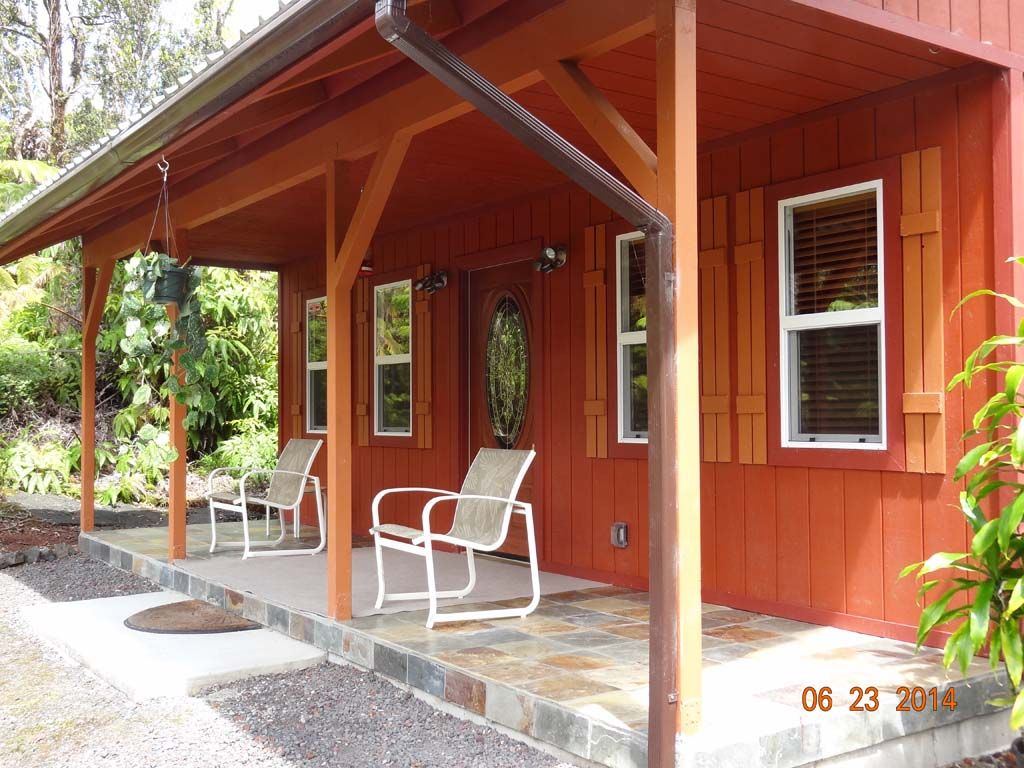 Alii kane cottages secluded fern forest vrbo for Big island cabins