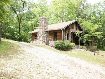 Photo for The ORIGINAL at Heather Hill Cabins, Rustic cabin w/loft sleeps 5