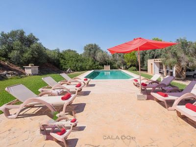 Photo for 4 bedroom Villa, sleeps 8 in Cas Concos with Air Con and WiFi