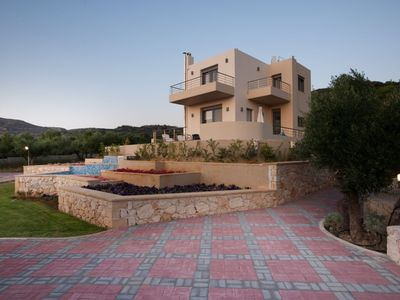 Photo for This 3-bedroom villa for up to 6 guests is located in Chania Region and has a private swimming pool,