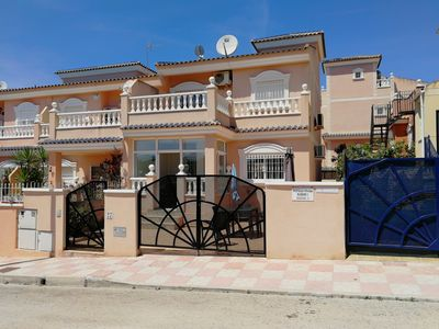 Photo for Villa, AC, free WIFI, shared  pool, near shops, beach and Alicante  Airport.