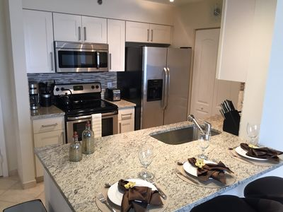 Photo for Luxury 5 Star 1BR/1BA, Pool, Fitness, Marina, Free WiFi