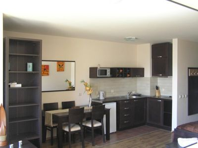 Photo for Bansko Studio Apartment (Sleeps Up to 4 People) Opposite Main Gondola Ski Lift