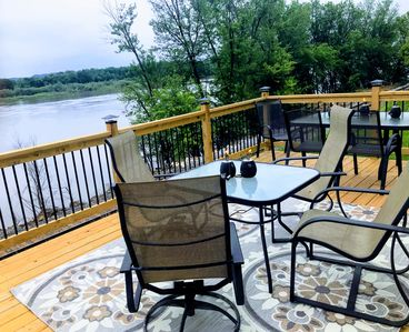 The perfect place to social distance, enjoy amazing views of the Mississippi!