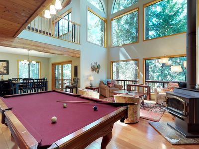 Photo for NEW LISTING! Private home w/ pool table, gorgeous setting & shared pools