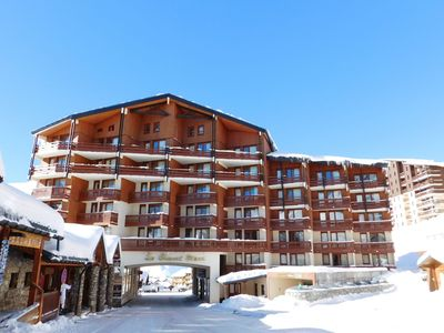 Photo for Comfortable apartment in a residence at the foot of the slopes in Val Thorens
