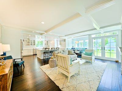 Photo for Outdoor Sanctuary with Fireplace Leading to Cape Cod Style Home!