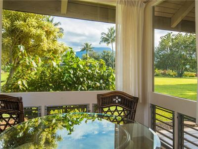 Photo for Relax in Paradise at this beautiful, one bedroom condo located on the lush, north shore of Kauai