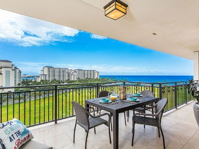 Photo for 9th Fl. 3Bed 3Bath KoOlina Beach Villa~Amazing Ocean Views~Sleeps 8~Paradise!