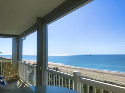 Photo for ONCE UPON A TIDE: Top Floor, Oceanfront, NEW LISTING, Pool, Come Stay a While!