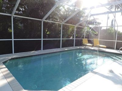 Photo for Naples Park Heated Pool/Beach Oasis