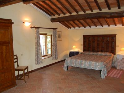 "Photo for Warm Suite ""L'Olmo"" in tuscan Agriturismo with fireplace"