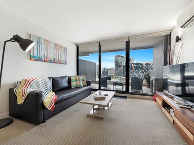 Photo for 1BR Apartment Vacation Rental in Melbourne, Victoria