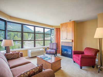 Photo for Stunning SLOPE-SIDE 2 Bedroom Suite with Amazing Mountain View