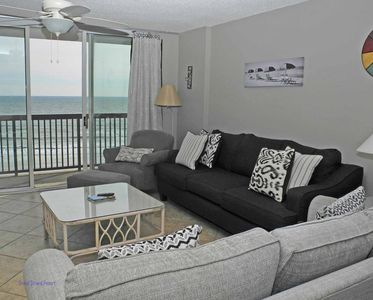 Photo for Ashworth Unit 603! Stunning Ocean Front Condo! Book your get away today!