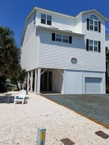 Photo for Spacious canal- front beach house with private pool and direct beach access
