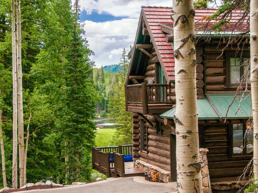 luxury mountain cabin at brighton ski resort solitude