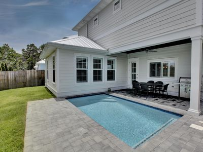 Photo for 30A Beach House w/Pool! Private Pool in Backyard! Prime 30A Location!