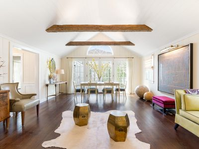 Photo for Prime Water Mill South: luxurious comfort + water access in designer home