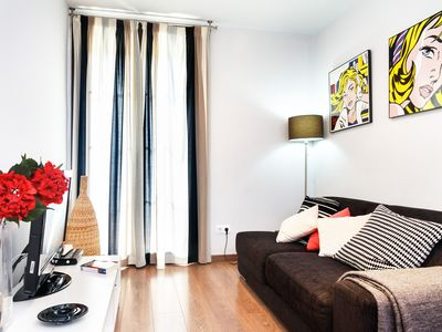 Photo for Magnificent designer apartment in central Barcelona