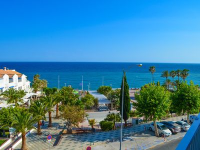 Photo for Luxury sea view apartment in the center of Nerja