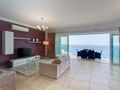 Photo for OCEAN FRONT LUX APARTMENT inc POOL, Upmarket Area